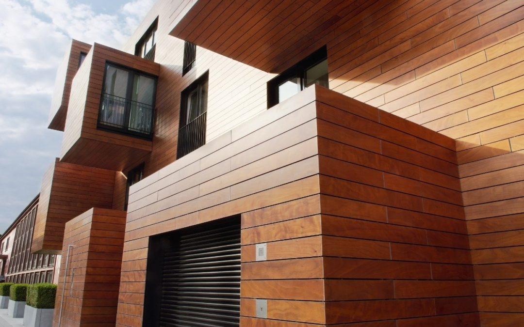 La Madera Pino Oregón puede sostener cualquier construcción