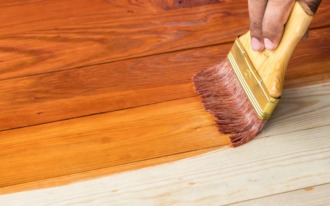 Maderera Andina: Cómo barnizar madera de pino correctamente